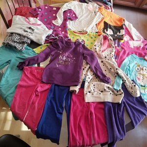 Other - Table lot of Girl's clothes Size 4 Winter Spring
